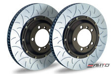 Brembo Rear  2pc Rotor Disc Upgrade 350x28 Type3 Slot Porsche 997 GT3 Cup 05-11