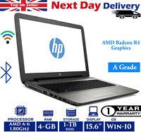 HP 15-af063sa 15.6-Inch Laptop AMD A6 Quad-Core 1.80Ghz 4GB RAM 1TB HDD Win 10