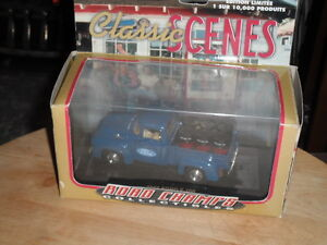 ROAD CHAMPS FORD F100 STEP SIDE TRUCK CLASSIC SCENE FROM CANADA,OWNED FROM NEW