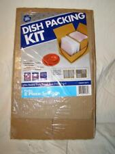 Dish Packing Kit Box Dividers Foam Envelopes 8 Place Setting Moving Supplies
