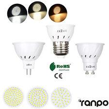 MR16 GU10 E27 LED Bulb Spotlight 2835 SMD 110V 220V Lamp 15W 25W 35W Equivalent
