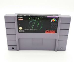 Alien 3 SNES Super Nintendo Original Authentic Tested