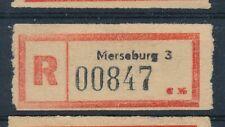 68319) DDR, Reco-Zettel Merseburg 3