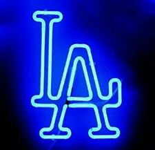 "New Los Angeles Dodgers Neon Light Sign 24""x20"" Beer Bar Real Glass Lamp Decor"