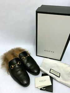 Gucci Leather Upper Slippers for Men