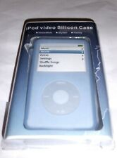 Blue Silicone sleeve for iPod Video Classic & Lanyard UK