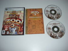 ZOO TYCOON 2 Zookeeper Collection Pc Base game Endangered & African Add-Ons