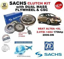 FOR SEAT ALTEA + XL 2.0 TDI 170 BHP CLUTCH KIT 2006-ON WITH FLYWHEEL BOLTS CSC