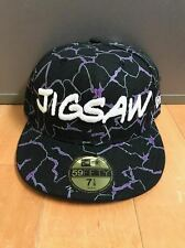 NEW ERA MARVEL JIGSAW FITTED HAT CAP 59FIFTY BLACK PURPLE MEN SZ 7-8