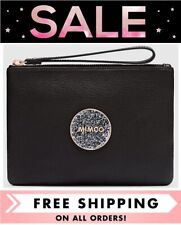 MIMCO BLISS MEDIUM POUCH BLACK ROSE GOLD CLUTCH BNWT DUSTBAG RRP$99.95 FREE POST