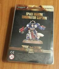 Space Marine Terminator Captain warhammer new store limited edition