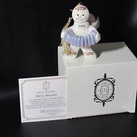 LENOX 2004 ANNUAL GINGERBREAD MAN Ornament MERRY MUSICIAN w/ BOX & COA (1ZIH-1)