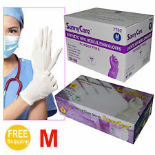 1000/Cs Synthetic Vinyl Medical Exam Gloves (Latex Nitrile Free) for Beauty Care