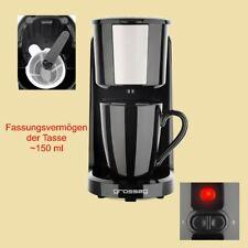 Grossag Ein-Tassen-Kaffeemaschine KA 8.17 - 1 Tasse a 150 ml - 380 W