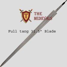 Sword full tang Blade ~ High Carbon Steel Functional blade