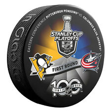 2017 Pittsburgh Penguins v Columbus Blue Jackets  Stanley Cup Playoffs Puck