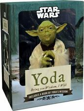 Star Wars Yoda Figurine: Bring You Wisdom, I Will | New in Box Shrinkwrap Sealed