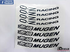 JAPAN MATERIAL 17' MUGEN M12 OZ RACING HIGH QUALITY REPLACEMENT DECAL STICKER #R