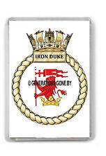 HMS IRON DUKE FRIDGE MAGNET