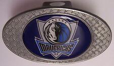 Trailer Hitch Cover NBA Basketball Dallas Mavericks NEW Diamond Plate Metal