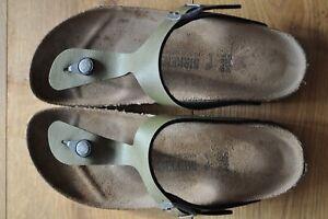 Birkenstock Sandals, green, EU 39 / UK 6