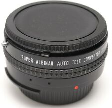 NIKON-AI Mount SUPER ALBINAR Auto Tele Converter 2x  - JAPAN