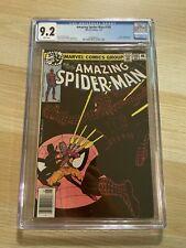 Amazing Spider-Man 188 CGC 9.2 WHITE Newsstand