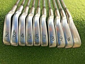 Ping S58 Black Dot Iron Set 2-PW+GW  /  LH  /  Stiff Steel / Nice Grips / mm4397