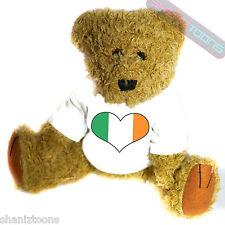 Ireland Love Heart Flag Mascot Novelty Gift Teddy Bear