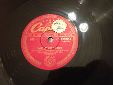"STAN KENTON & His Orchestra ""Harlem Folk Dance""/ ""Eager Beaver"" 78rpm 10"" G+"