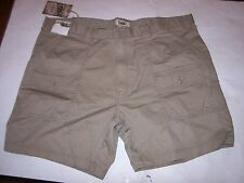 NEW Roundtree & Yorke lightweight hiking cargo shorts beige chino khaki 44 or 46