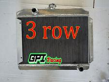 3 ROW Aluminum Radiator for DATSUN 180B Manual 1971 1972 1973 1974 1975 1976