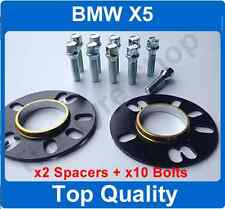 10mm Hubcentric Spacer Fitting Kit + Bolts to fit BMW X5 Wheels to VW T5
