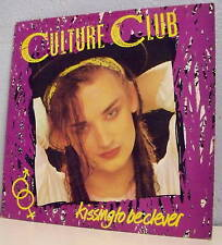 "33T CULTURE CLUB Boy GEORGE Disque LP 12"" KISSING TO BE CLEVER - VIRGIN 204958"