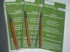 "HiyaHiya 2.75mm x 5"" (12.7cm) Bamboo Interchangeable Tips - Knitting Needles"