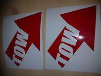 tow x2motorsport rally stock car sticker jdm funny novelty vw ford peugeot saxo