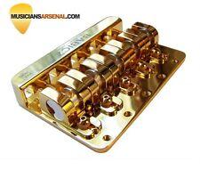 Babicz Full Contact Hardware 5-String Bass Bridge - Gold
