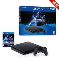 Sony PlayStation 4 Slim Star Wars Battlefront 2 Bundle - PS4 Console 1TB Black