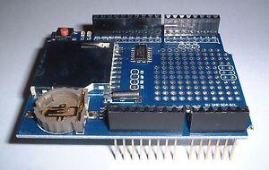 Data Logger Module Logging Recorder Shield for  UNO SD Card UK Seller