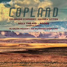 Copland / Colorado S - An Outdoor Overture - Billy the Kid - El Salon [New SACD]