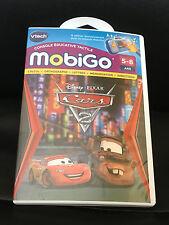 Cars 2 Mobigo 1 et V2 / Jeu Sur Console Vtech Disney Pixar