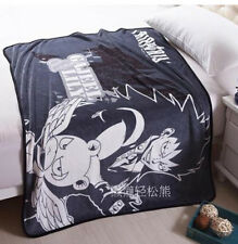 Fairy Tail Gajeel and Pantherlily coral fleece throw blanket blankets soft throw