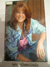 10x8 Hand Signed Photo of Spice Williams Crosby - Vixis - Star Trek V
