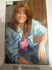10x8 Hand Signed Photo of Spice Williams Crosby - Vixis - Star Trek V
