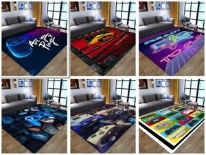 Rugs Anti-Slip SHAGGY RUG Soft Carpet Mat Living Room Floor Bedroom Decor Home