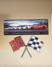 Corvette Metal Wall Sign