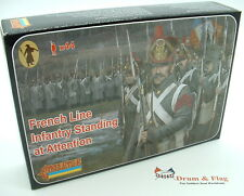 Strelets Set 184 - French Line Infantry Standing at Attention - Napoleonic Wars.