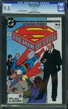Man of Steel # 4 (Superman) us dc 1988 John Byrne Art 9.8 Mint cgc highest