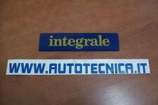 Scritta stemma sigla logo Integrale posteriore Lancia Delta Evoluzione 82473841