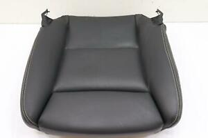 2014 - 2016 BMW 535XI F10 FRONT LEFT LOWER SEAT CUSHION BLACK LEATHER OEM